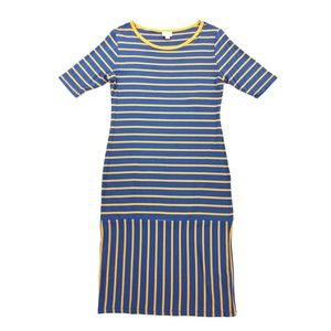 LuLaRoe Julia Striped Dress Size Medium (8-10) NWT